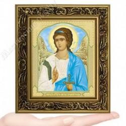 Ангел Хранитель, V-180 / 10х12 икона, двойное тиснение / Багет В