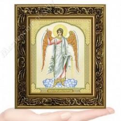 Ангел Хранитель, V-4 / 10х12 икона, двойное тиснение / Багет В