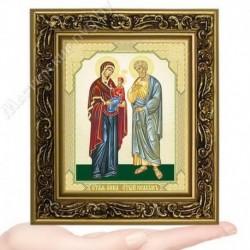 Иоаким и Анна, V-172 / 10х12 икона, двойное тиснение / Багет В