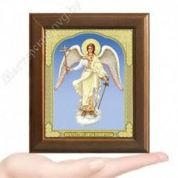 Ангел Хранитель, V-130 / 10х12 икона, двойное тиснение / Дерево
