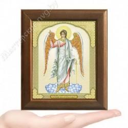 Ангел Хранитель, V-4 / 10х12 икона, двойное тиснение / Дерево