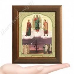 Спас Чернобыльский, V-83 / 10х12 икона, двойное тиснение / Дерево