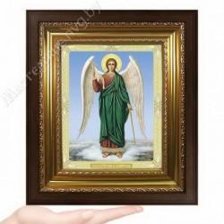 Ангел Хранитель, N-37 / 15х18 икона, двойное тиснение / Киот КП2