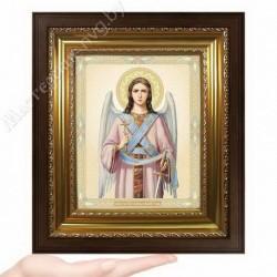 Ангел Хранитель, N-3 / 15х18 икона, двойное тиснение / Киот КП2