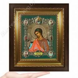 Ангел Хранитель пояс, NS-2 / 15х18 икона, конгрев цветной / Киот КП2