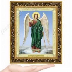Ангел Хранитель, N-37 / 15х18 икона, двойное тиснение / Багет В
