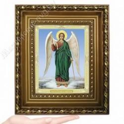 Ангел Хранитель, N-37 / 15х18 икона, двойное тиснение / Багет Д