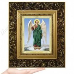 Ангел Хранитель, N-37 / 15х18 икона, двойное тиснение / Багет Е