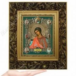 Ангел Хранитель пояс, NS-2 / 15х18 икона, конгрев цветной / Багет Е
