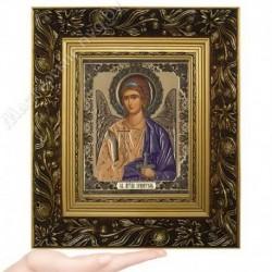 Ангел Хранитель (пояс), GK-52 / 15х18 икона, золотистый конгрев / Багет Е