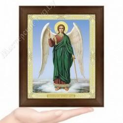 Ангел Хранитель, N-37 / 15х18 икона, двойное тиснение / Дерево