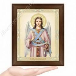 Ангел Хранитель, N-3 / 15х18 икона, двойное тиснение / Дерево