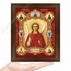 Ангел Хранитель, NK-7 / 15х18 икона, конгрев цветной / Дерево