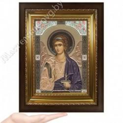 Ангел Хранитель, GP-3 / Икона 17 х 24, золотистый конгрев / Киот