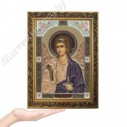 Ангел Хранитель, GP-3 / Икона 17 х 24, золотистый конгрев / Багет В
