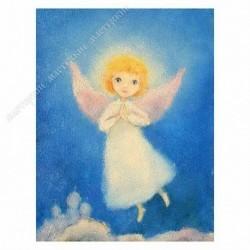 Картина на подрамнике, 22х30, Кт-46, Мой ангел, худ. И. Капустина