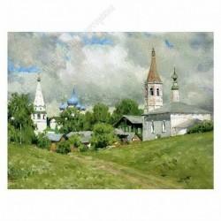 Картина на подрамнике, 22х30, Кт-47, Суздаль, худ. В. Кириллов