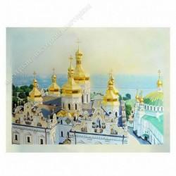 Картина на подрамнике, 22х30, Кт-52, Киев, Лавра, худ. Александр