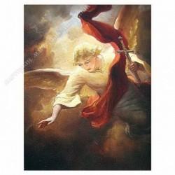 Картина на подрамнике, 30х40, Кт-5, Ангел Хранитель, худ. А. Шишкин