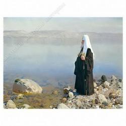 Картина на подрамнике, 30х40, Кт-23, Святейший Патриарх..., худ. Д. Белюкин